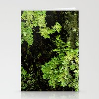 Textures - Moss Stationery Cards