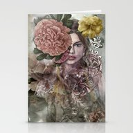 Fashion Girl Stationery Cards