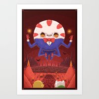 Peppermint Butler: Ruler of the Nightosphere Art Print