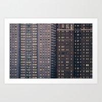 Density - New York City Architecture Art Print