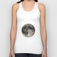 The Moon  [Sans Type] Unisex Tank Top