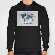 world map 13 Hoody