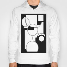 Outlined Circles  Hoody