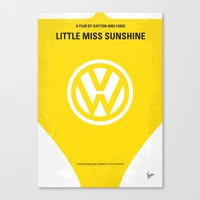 No103 My Little Miss Sunshine movie poster Canvas Print