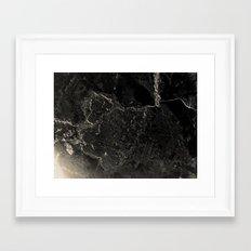 in·dis·tinct Framed Art Print