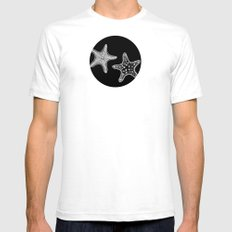 Starfish White Mens Fitted Tee SMALL