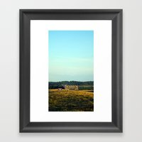 Hill Top Framed Art Print