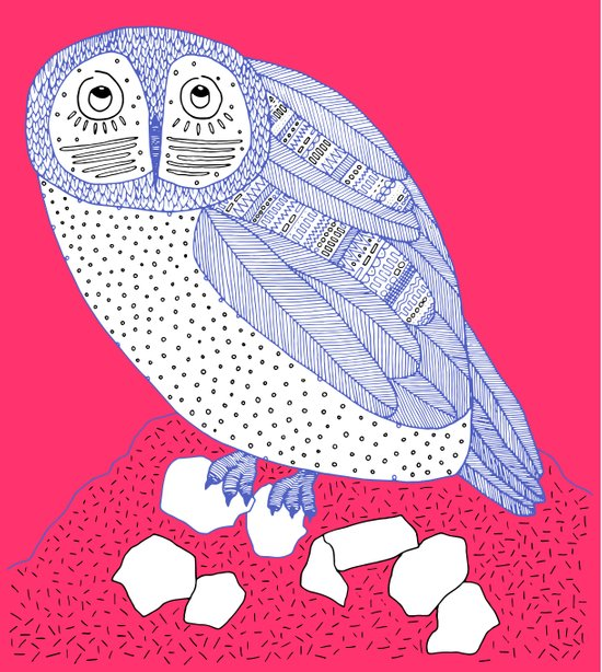 Just Another Owl Art Print