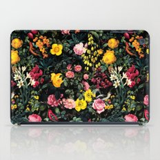Floral And Birds Pattern iPad Case