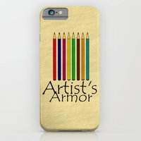 iPhone & iPod Case featuring Artist's Armor by Arts and Herbs