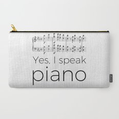 I speak piano Carry-All Pouch