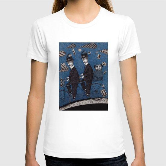 Two Men Travelling T-shirt