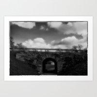 The Stone Bridge Art Print