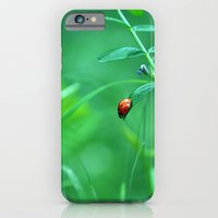 iPhone & iPod Case featuring Ladybug by Arevik Martirosyan