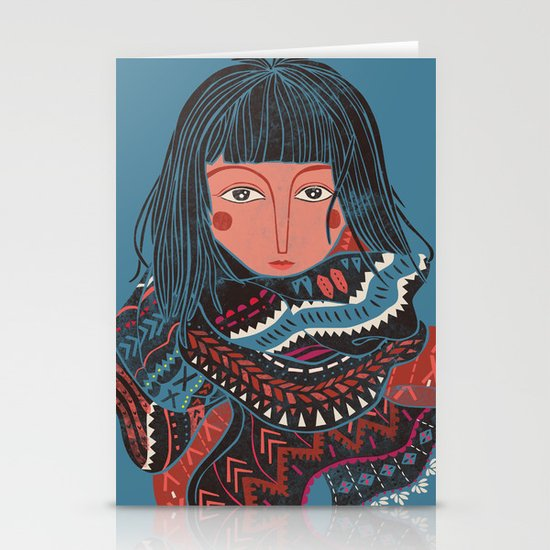 The Nomad Stationery Card