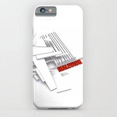 Malevich 3D [B&W] iPhone 6s Slim Case