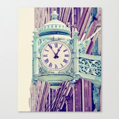 Telling Time Canvas Print