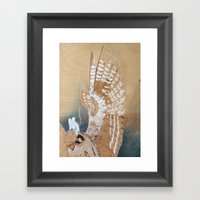 Ghost Mouse (rides Again… Framed Art Print