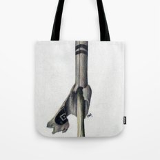 To The Core: White Tote Bag