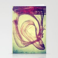 Gasping For Air Stationery Cards
