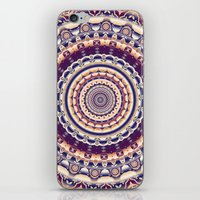 Abstractions in colors (Mandala) iPhone & iPod Skin