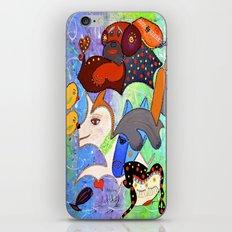 SERENE BARKS iPhone & iPod Skin