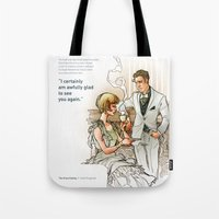 The Great Gatsby_see you again Tote Bag