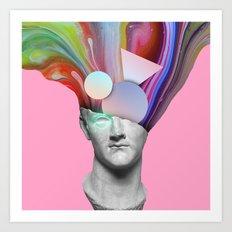 Sculpture Dream Art Print
