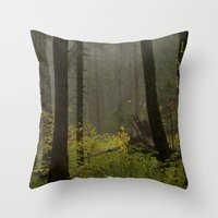 Forest#2 Throw Pillow