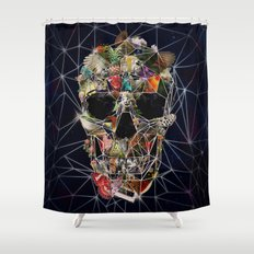 Fragile Skull Shower Curtain
