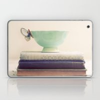 Tea & Books Laptop & iPad Skin