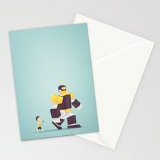 the robot my dad never gave me Stationery Cards