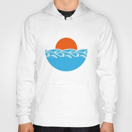 Japanese Tsunami  Hoody