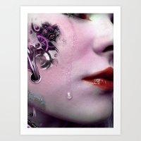Mechanical Emotion Art Print