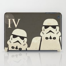 Star Wars Minimal Movie Poster iPad Case