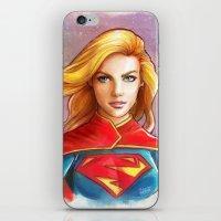 Supergirl iPhone & iPod Skin