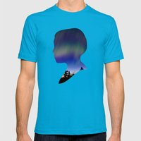Dreaming Boy Mens Fitted Tee Teal SMALL