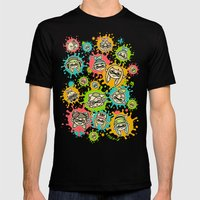 Splat Festival Mens Fitted Tee Black SMALL