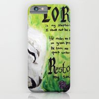 The Lord Restores Psalm 23 iPhone 6 Slim Case