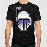 Mandalorian In Disguise Mens Fitted Tee Tri-Black SMALL