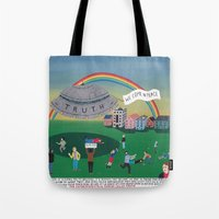 The Extraterrestrial Thr… Tote Bag