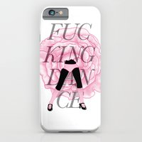 iPhone & iPod Case featuring F**CKING DANCE by Devin McGrath