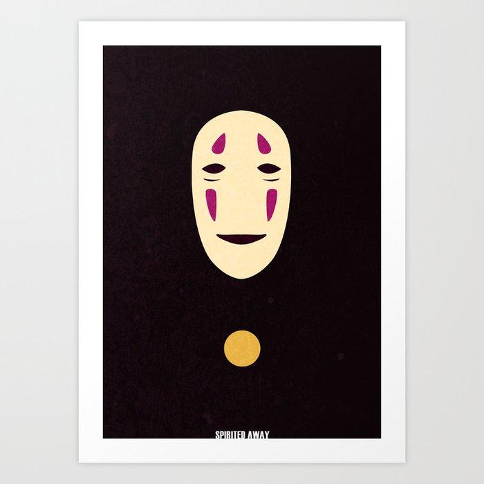 Minimalist Spirited Away poster Art Print by Eoin O'Kane ...