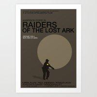 Raiders Of The Lost Ark Art Print
