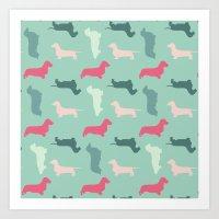 Woof, Woof... Bark, Bark… Art Print