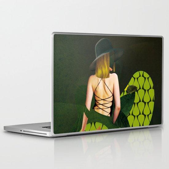 WOMEN - GREEN Laptop & iPad Skin