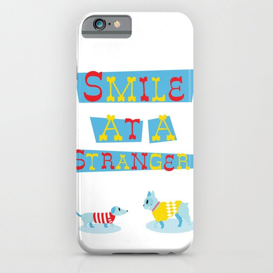 Smile at a Stranger iPhone & iPod Case