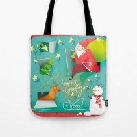 Christmas Calendar Tote Bag