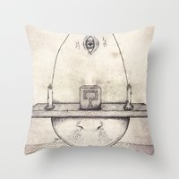Tarot: I - The Magician Throw Pillow