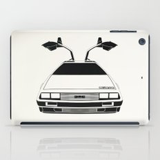 Delorean DMC 12 / Time machine / 1985 iPad Case